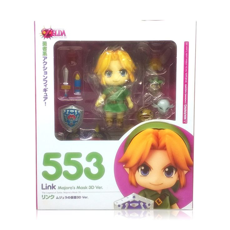 Link Figure #553 - Majora's Mask 3D Version