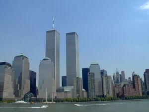 9-11 Photos: Attack on the World Trade Center: The World Trade Center Towers Before the Attack