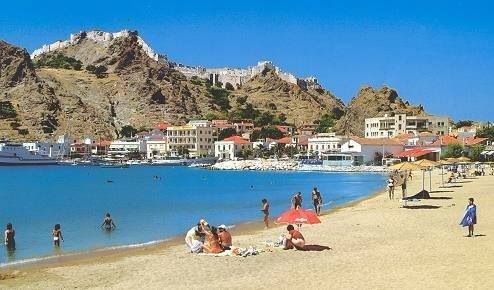 Beach in lemnos