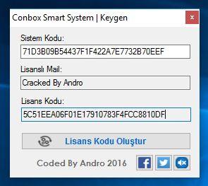 Conbox Smart System Makale Özgünleştirici ve Keygen Görüntü-2