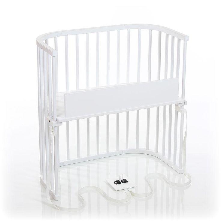 All white babybay® Bedside Sleeper