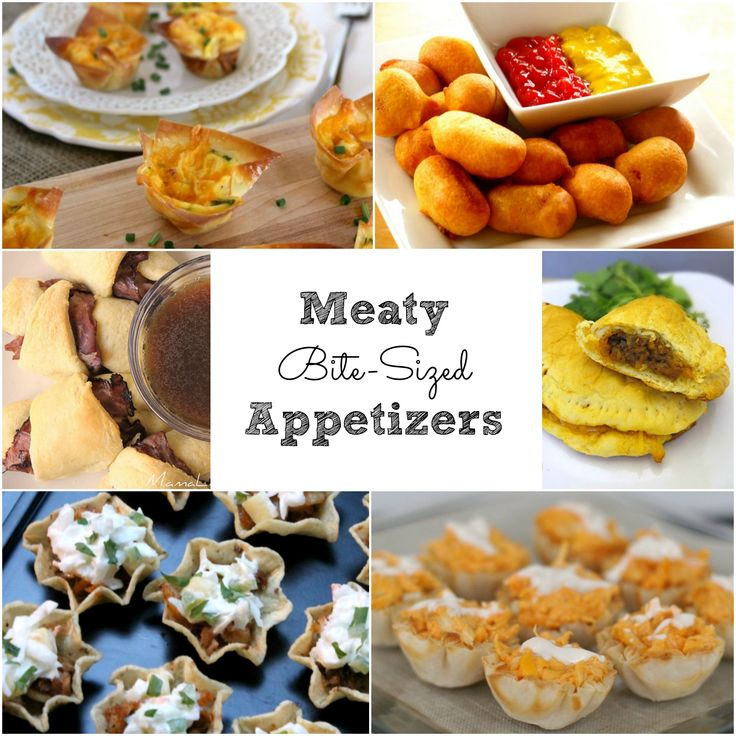 Mini Food Ideas For Party Or