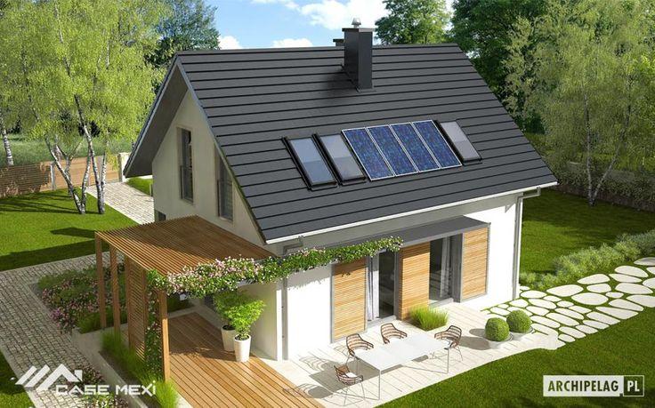 Proiectul propune o casa mica dar cocheta cu o suprafata utila 89.76 m2. Parterul este compus din Living, Bucatarie, Hol, Vestibul, Cămară, Birou