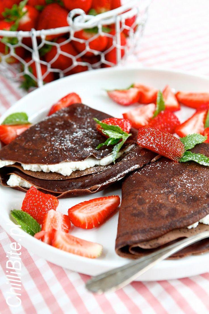 ChilliBite.pl - motywuje do gotowania!: Pyszne naleśniki czekoladowe