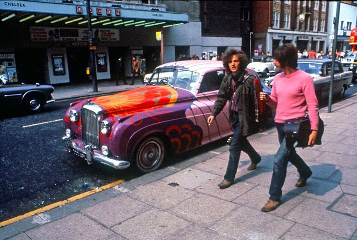 Psychedelic London.  King's Road, circa 1968