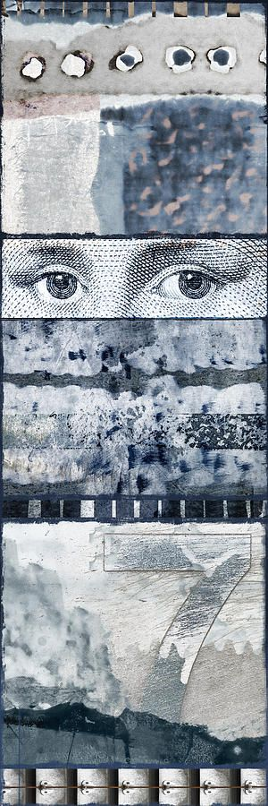 Eyes On Seven photomontage by Carol Leigh
