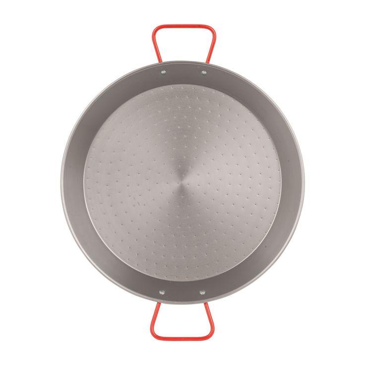 Heb jij zelf wel eens paella gemaakt? Doen, want het is superlekker! En met deze paellapan kan dat op het gas óf op de barbecue, en dat voor 6-10 personen tegelijk!