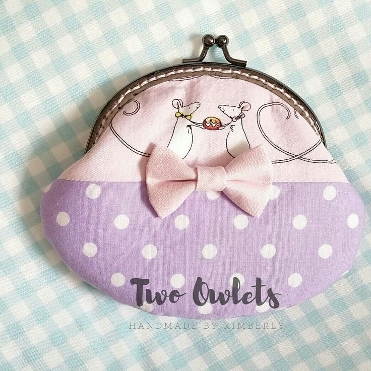 Squeaky Rodents Kisslock Purse