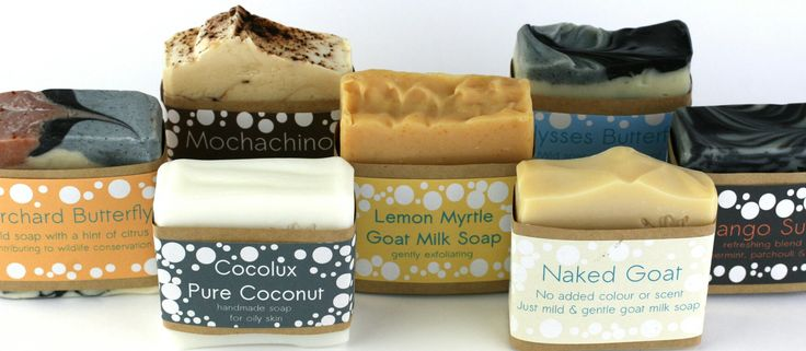 Line up of my soaps avaliable at the end of August 2017