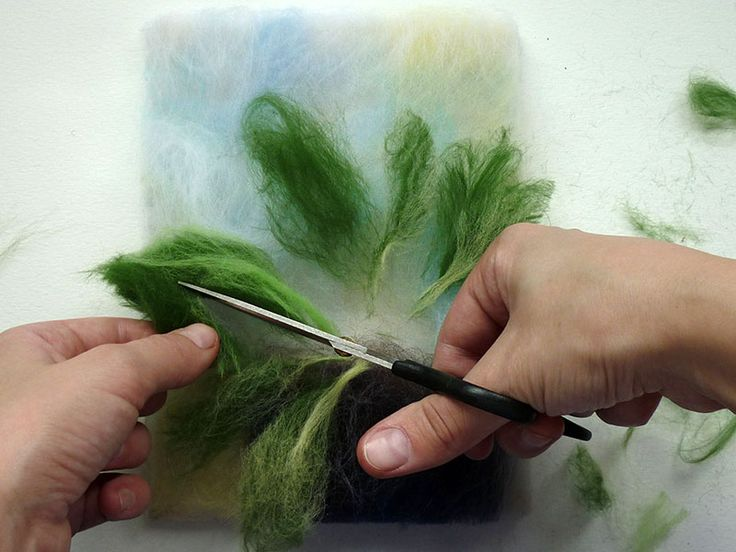 Примула - цветы шерстью pdf мастер класс