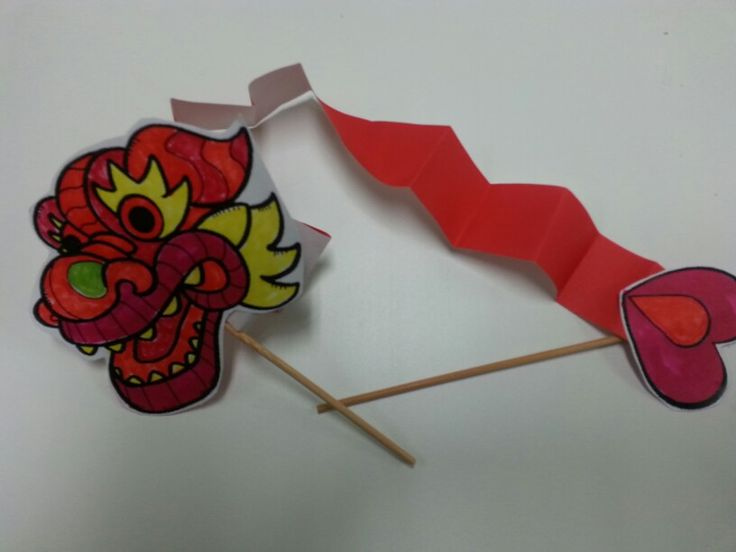 Chinese New Year/Dragon Craft