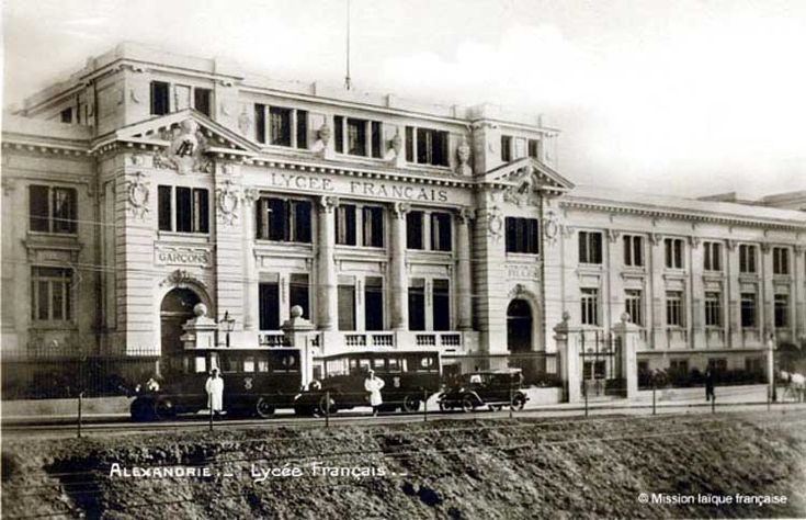 Lycee francais  , 1920- Lycee school - in chatby district- Alexandria, egypt