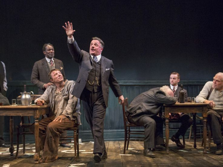 Off Broadway Review: 'The Iceman Cometh' Starring Nathan Lane