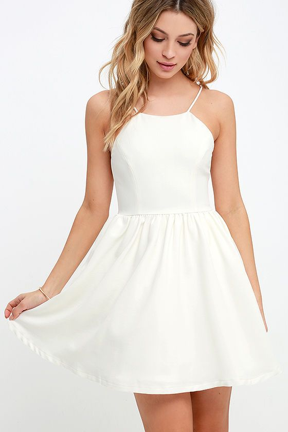 Little White Dresses|Long & Short White Dresses for Juniors