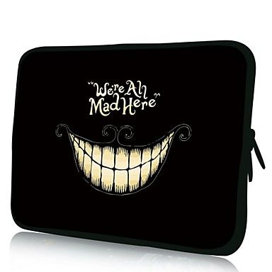 "Elonno Smiling Face 15"" Laptop Neoprene Protective Sleeve Case for Macbook Pro Retina Dell HP Acer – NOK kr. 117"