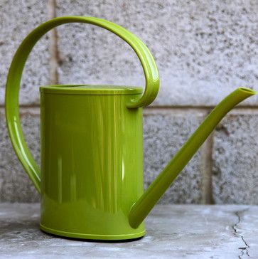 Spring Green Calypso Watering Can - contemporary - gardening tools - SPROUT HOME