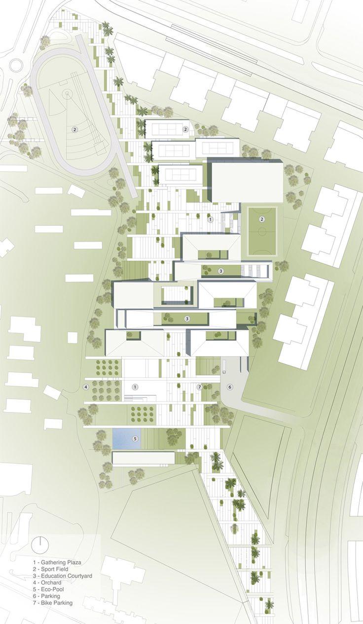 'Fields of Knowledge' by ShaGa Studio + Auerbach Halevy Architects + Ori…