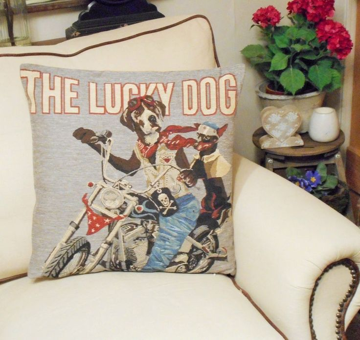 Motorcycle Lovers Tapestry Pillow You
