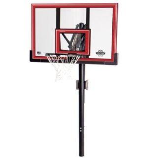 Lifetime In-Ground Basketball Hoop - 90191 Basketball Goal 50-inch Polycarbonate Backboard