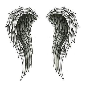 watercolor angels wings - Google Search