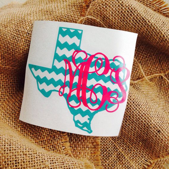 Best Images About Decals On Pinterest Monogram Stickers - Monogram car decal sticker