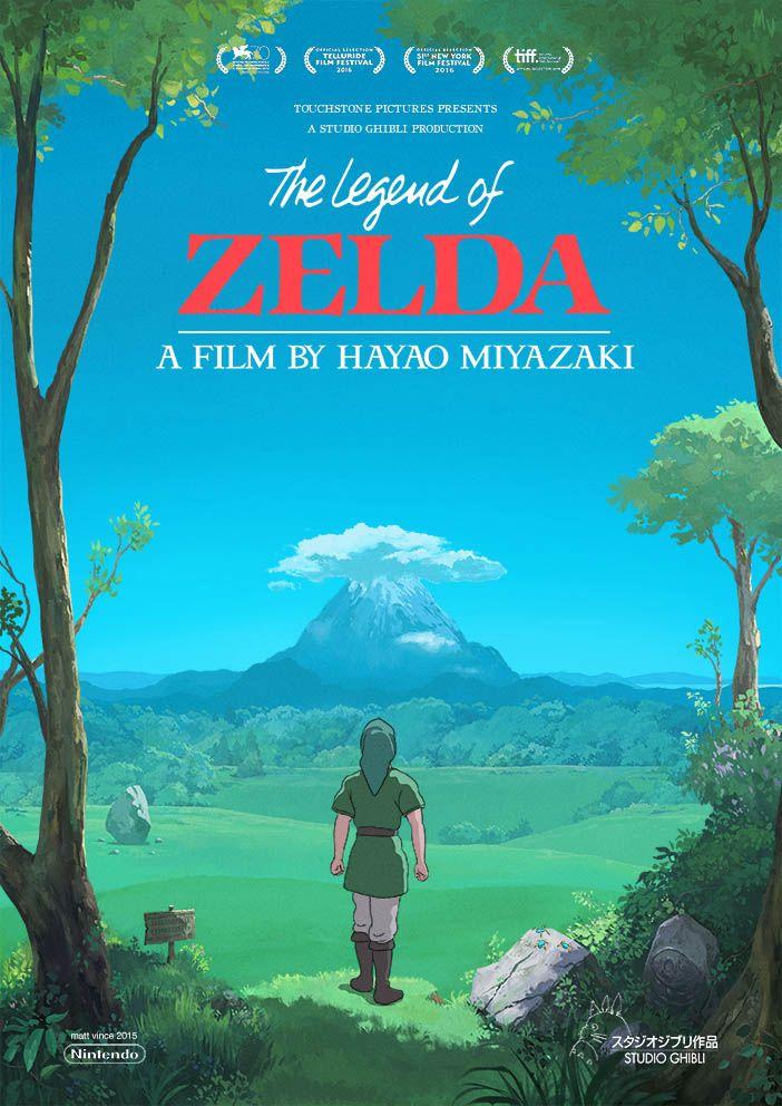 Si Zelda était un film de Miyazaki - Link