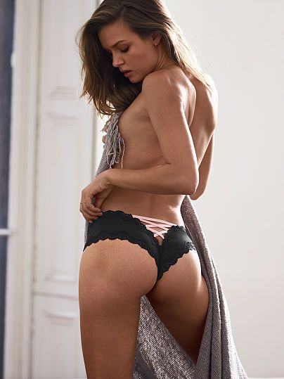 Lace-Up Cheeky Panty