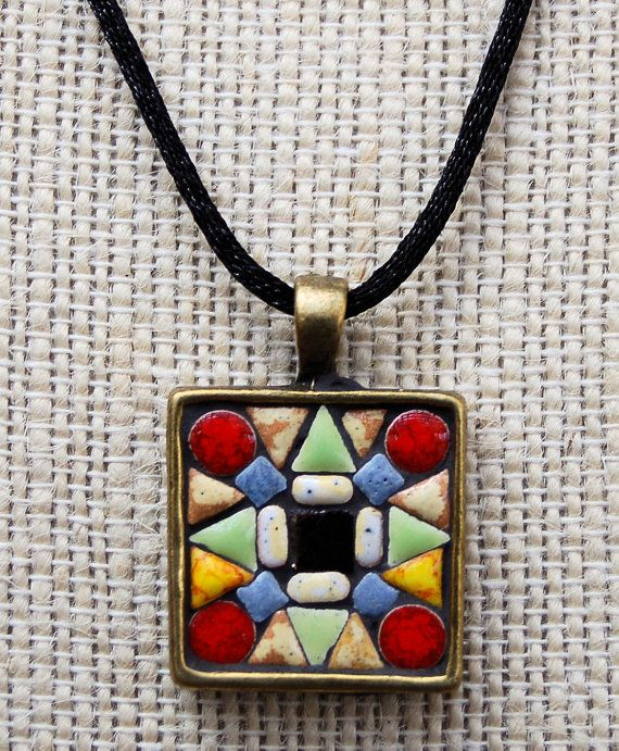 94 Best Images About Mosaic Jewellery On Pinterest