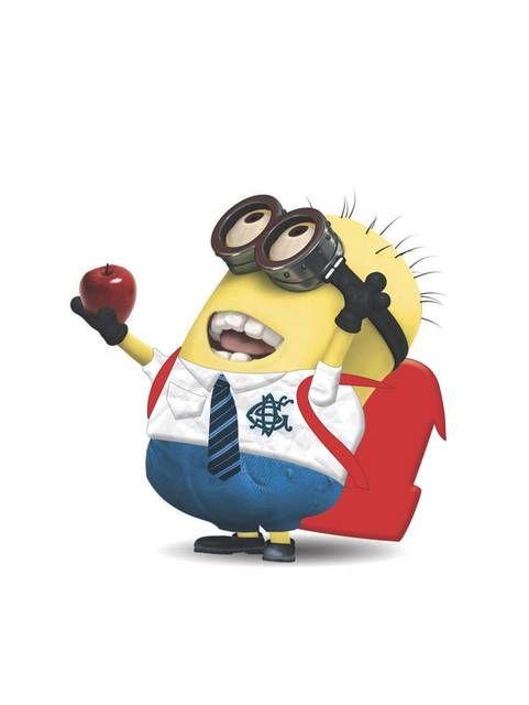 Apple for the Teacher Minion