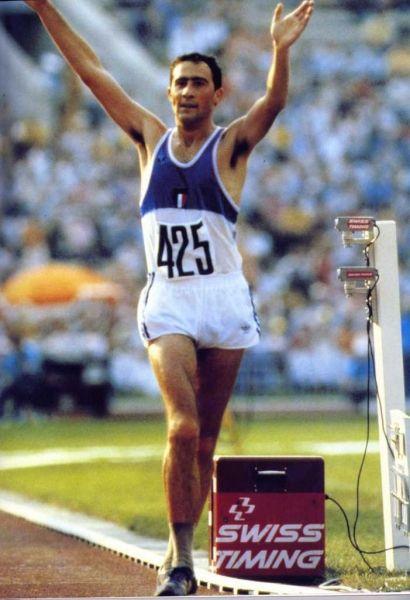 maurizio damilano(Scarnafigi, 6 aprile 1957) (mosca 1980-ORO-Atletica leggera-20 km di marcia)