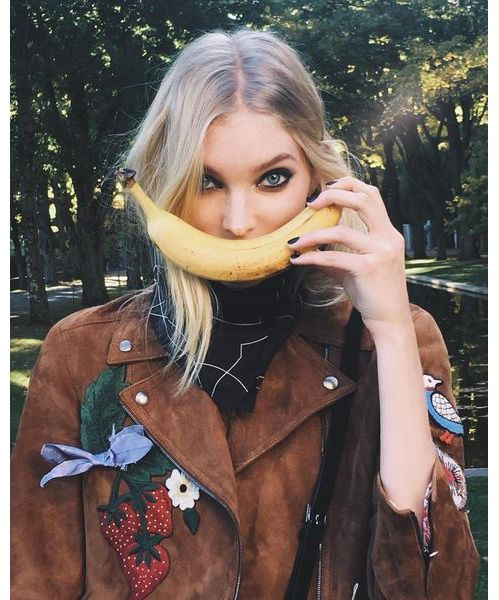 L'interview Beauté de l'ange Victoria's Secret Elsa Hosk : régime alimentaire