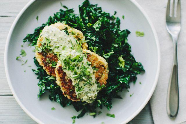 Quinoa Cauliflower Patties | Sprouted Kitchen