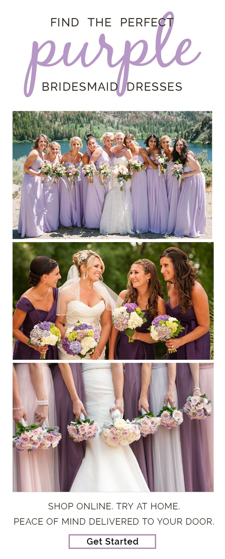 Brideside has over 400 bridesmaid dress styles in any shade you could dream of. Sign up and get matched with a free personal style consultant who can help you find the perfect style and color for the big day. Brideside makes choosing your bridesmaid dresses as easy as choosing your bridesmaids. Sign up and get shopping!