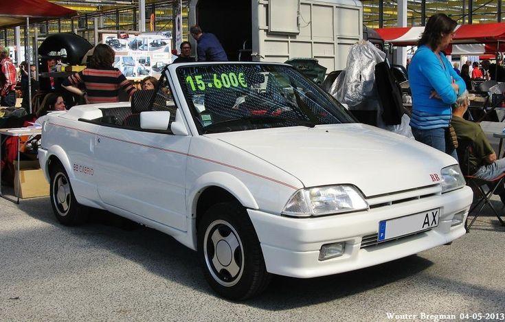 Citroën AX BB Cabrio: la rareté portugaise par AG Engineering   Boitier Rouge