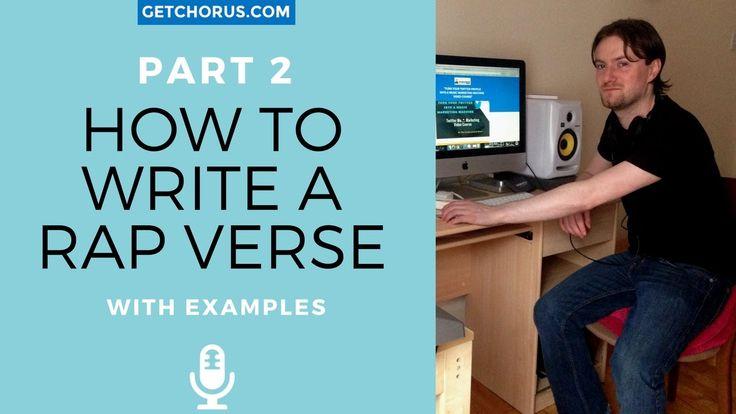 Writing A Rap Verse Part 2 : Lyrical Break Down