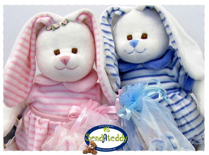 Sweet bunnies!  http://goo.gl/Nmc82m www.sendateddy,net #sendateddy