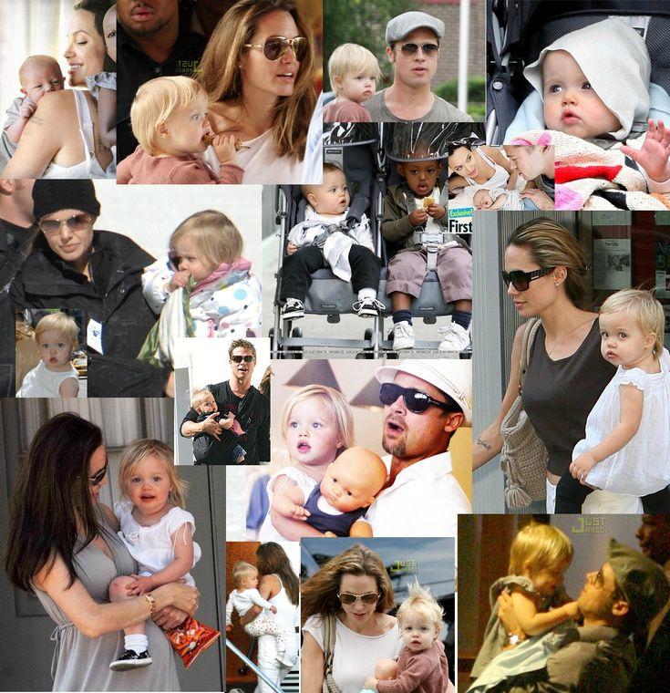 Angelina Jolie Brad Pitt | Brad Pitt, Angelina Jolie, Maddox, Pax, Zahara, Shiloh, Knox Leon ...