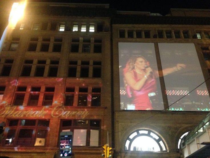 Free Mariah Carey Christmas concert, Toronto