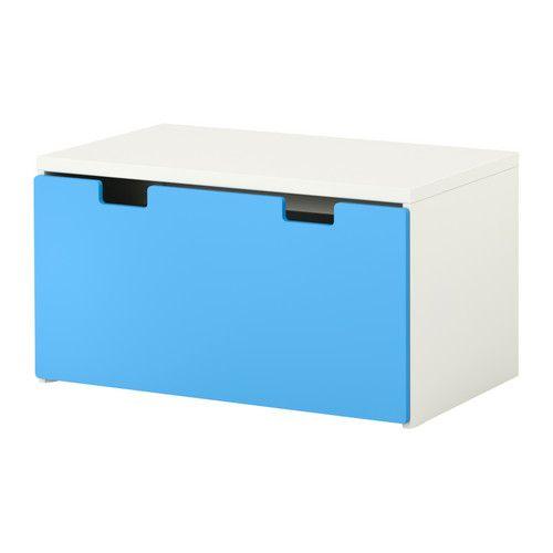 STUVA Banco c/arrumação IKEA Arrumação baixa para as crianças conseguirem aceder e organizar o seu conteúdo.