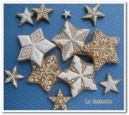 Stars and Snow Flakes - La Cachette ~