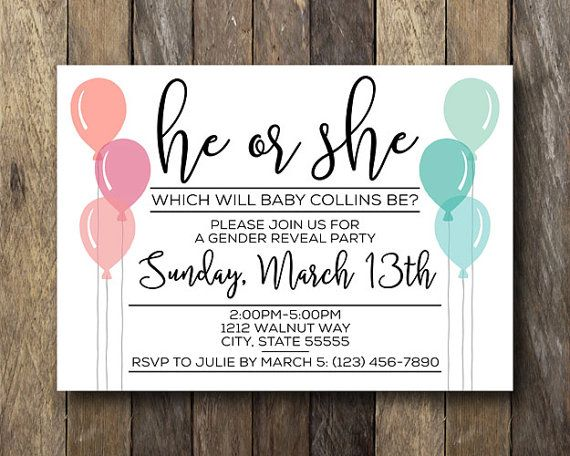 47 best images about Gender Reveal on Pinterest Chalkboard party