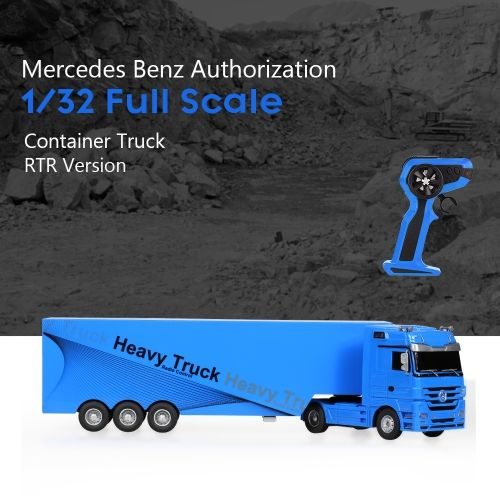 RUICHUANG QY1101 1/32 2.4G Electric Mercedes Benz Container Heavy Truck RTR RC Car