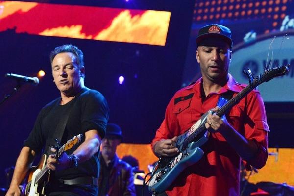 Tom Morello & Bruce Springsteen :)