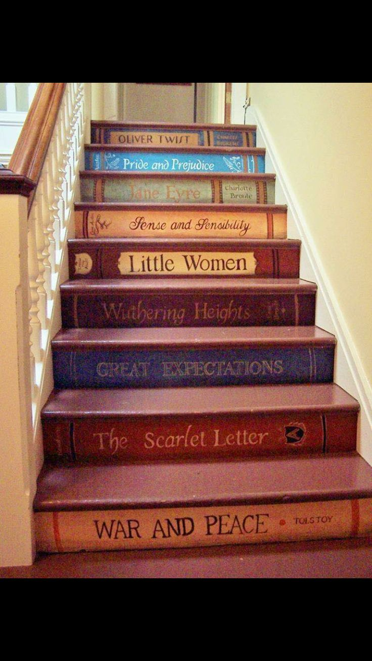 Make it books we read together as a family!!! CUTE!!!