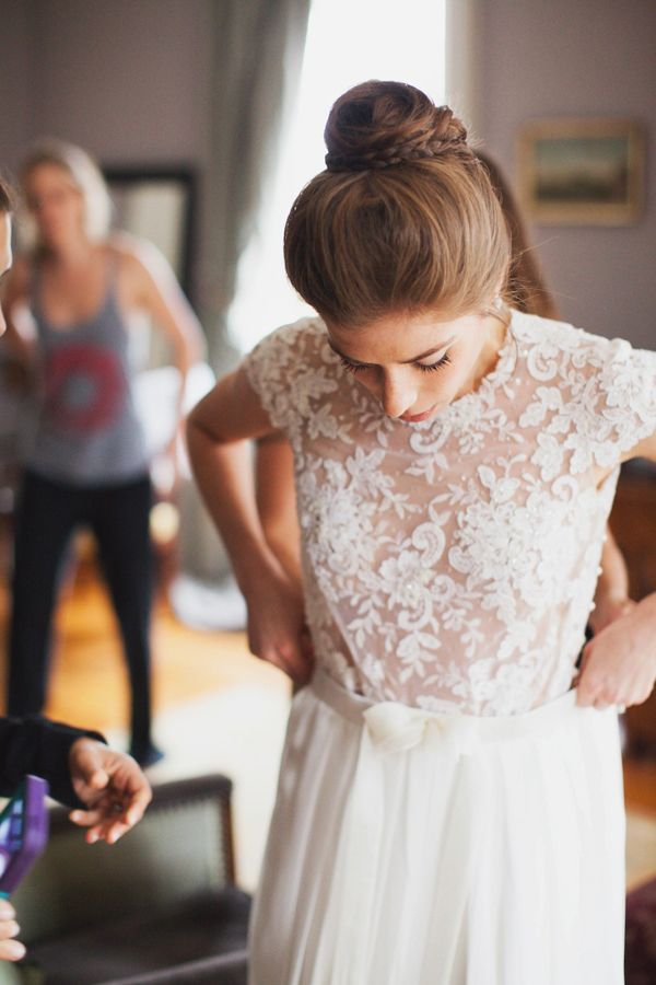 Lace wedding dresses #laceweddingdress Fab Mood