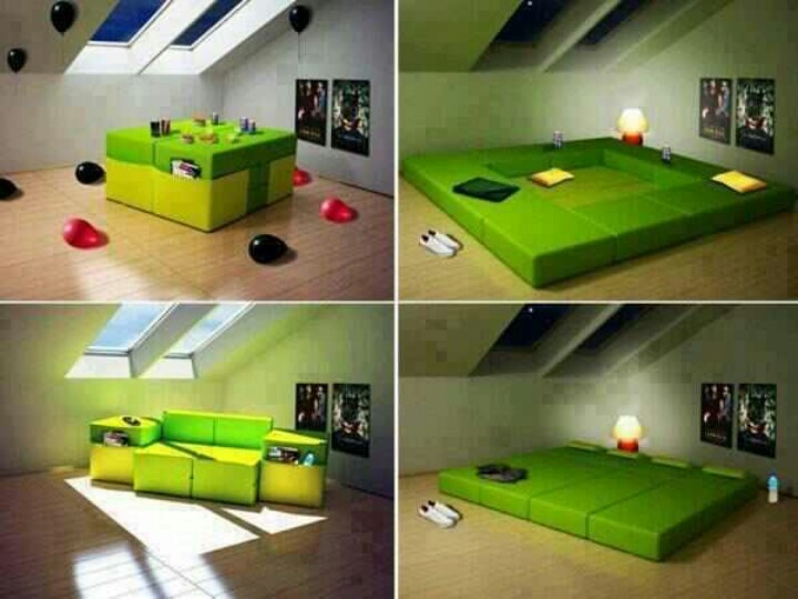 Best Transforming Furn Images On Pinterest Architecture - Design your own furniture with tetran eco friendly modular cubes