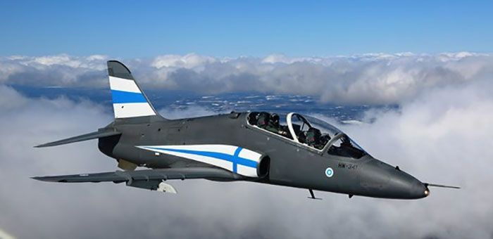 Finnish Air Force aerobatic team Midnight Hawks aircraft will receive a special blue-and-white livery for the airshow display season 2017 in celebration of Finland's 100 years of independence.The special paint scheme was first applied to an Hawk Mk 51 aircraft bearing the registration HW-341. ...