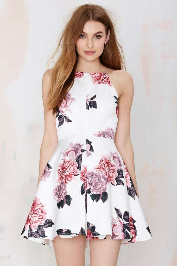 Cameo Collective Night Swim Dress - Floral - Fit-n-Flare | Day | Going Out | Cameo