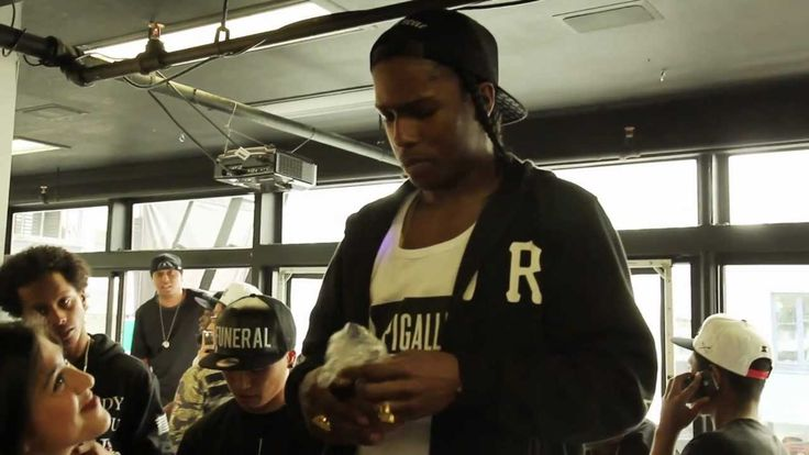 A$AP Rocky at Black Scale SF