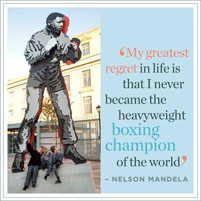 Madiba's one regret...